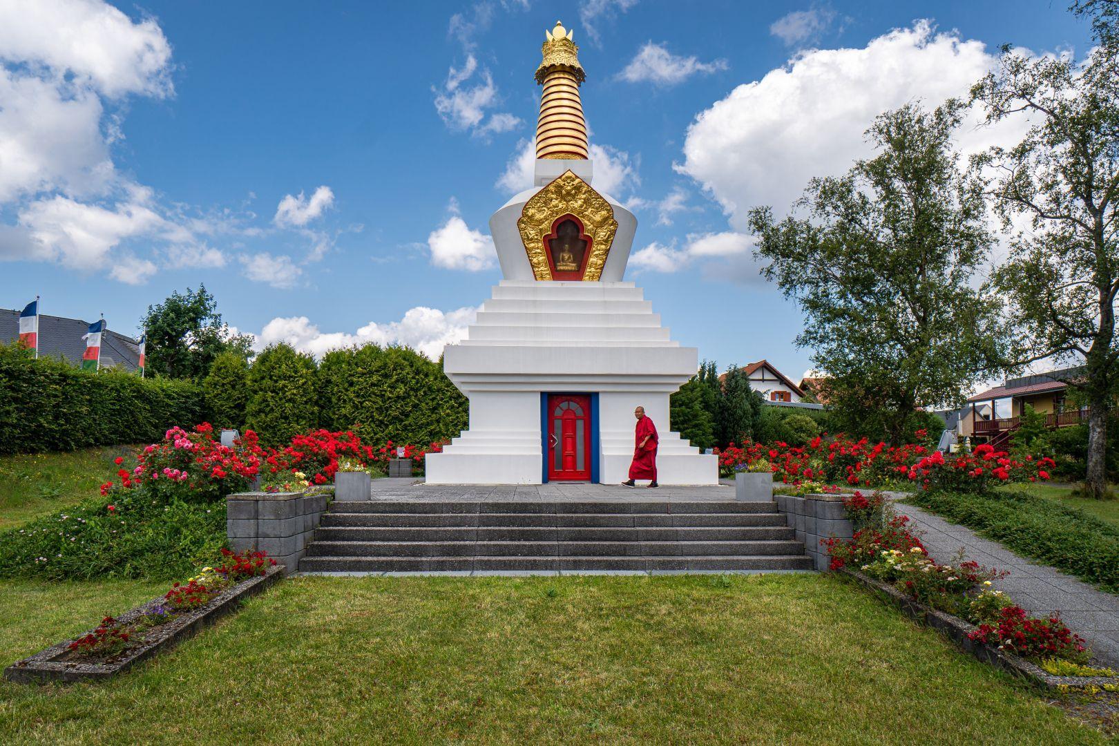 Buddhistische-Stupa-Langenfeld