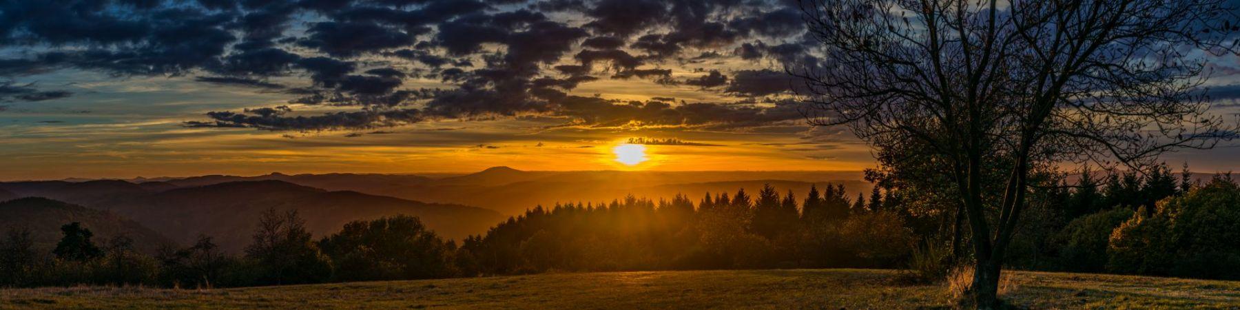 Sonnenuntergang-Steinerberg